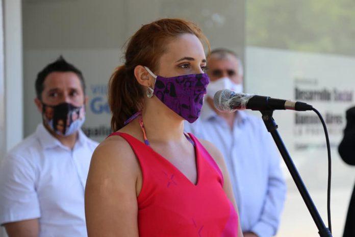 La ministra de Trabajo bonaerense, Mara Ruiz Malec