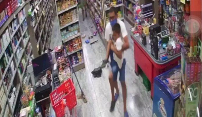 General Rodríguez: hieren de un balazo a un nene de 7 años en el asalto a un supermercado