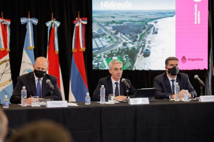 En medio de las críticas, el Gobierno reunió a los gobernadores antes de relicitar la Hidrovía