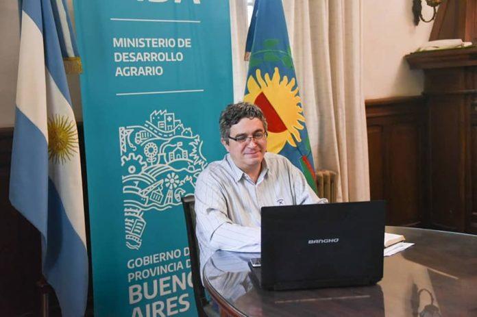 El ministro de Desarrollo Agrario bonaerense, Javier Rodríguez
