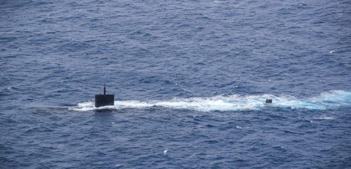 El Gobierno cuestionó la presencia de un submarino nuclear estadounidense en el Atlántico Sur