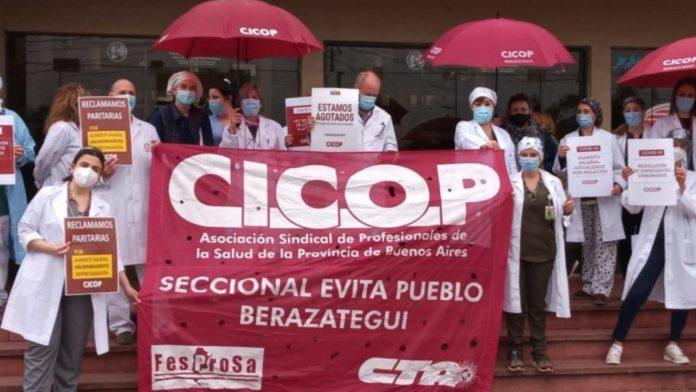 """La Cicop reclama volver a discusiones paritarias: """"Los salarios están lejos de condecir con la tarea que llevamos adelante en la pandemia""""."""
