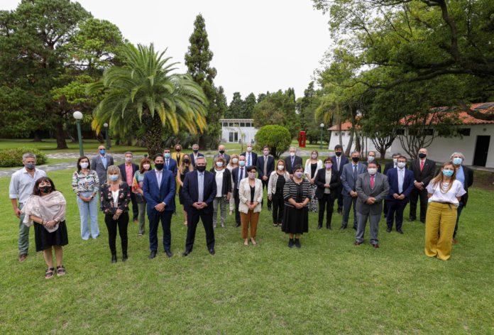 Los ministros de Educación de todo el país se reunieron con su par nacional y el presidente Alberto Fernández. (Presidencia)