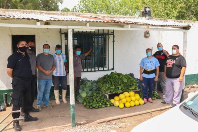 Parte de la producción de la Unidad 12 de Gorina que llegó al hospital de Romero. (Prensa SPB)