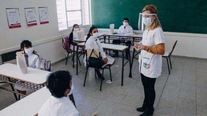 El Ministerio de Educación hizo saber que armó una división en cinco grupos.
