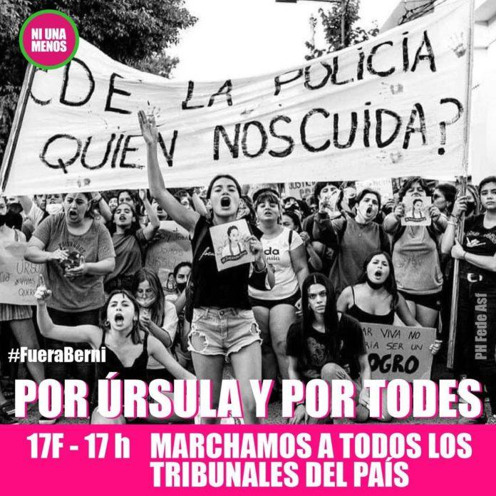 La concentración del #17F se realizará el miércoles en los tribunales de todo el país. (Instagram)