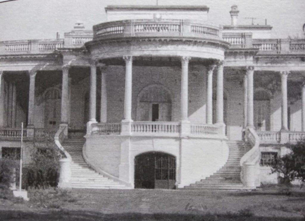 """El Palacio Piria en su época de esplendor. (""""Por los tiempos de Francisco Piria"""", 2008)"""
