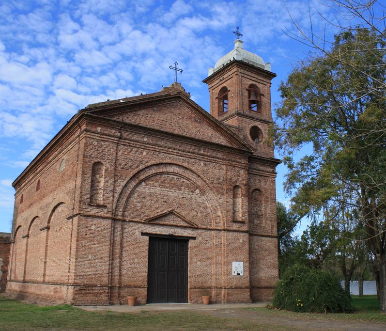 Nuestra Señora del Rosario, en Azcuénaga, San Andrés de Giles. (Secretaría de Turismo)