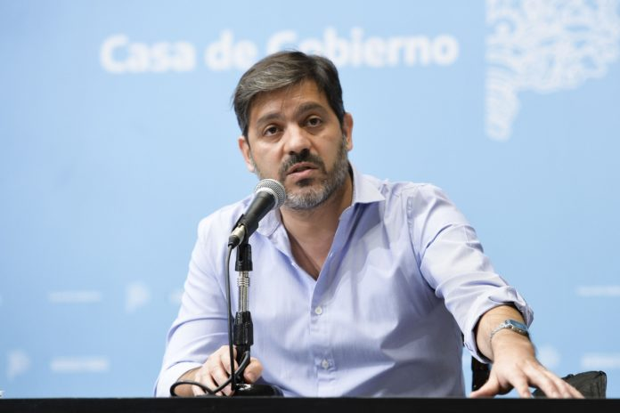 El jefe de Gabinete bonaerense, Carlos Bianco