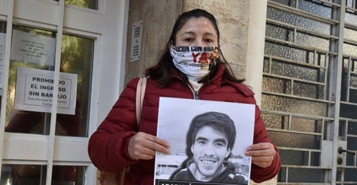 Cristina Castro, la madre de Facundo Astudillo Castro, el joven que en abril de 2020 desapareció luego de un control policial