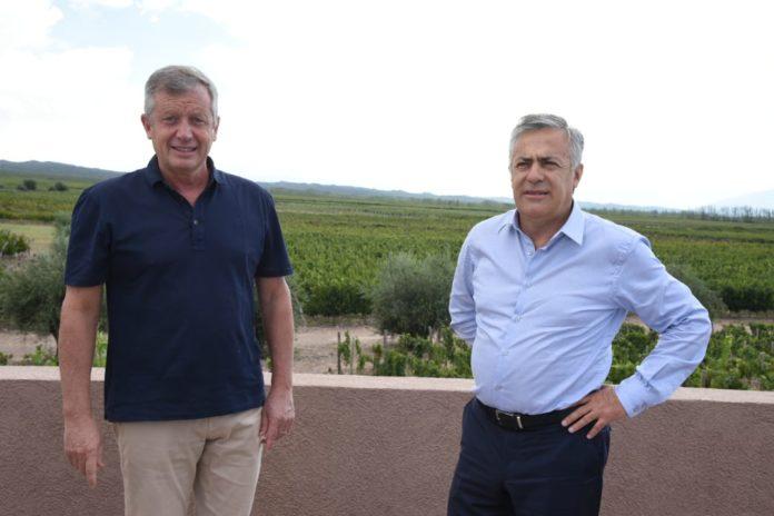 Monzó se mostró con Cornejo: Pidieron unidad en Juntos por el Cambio
