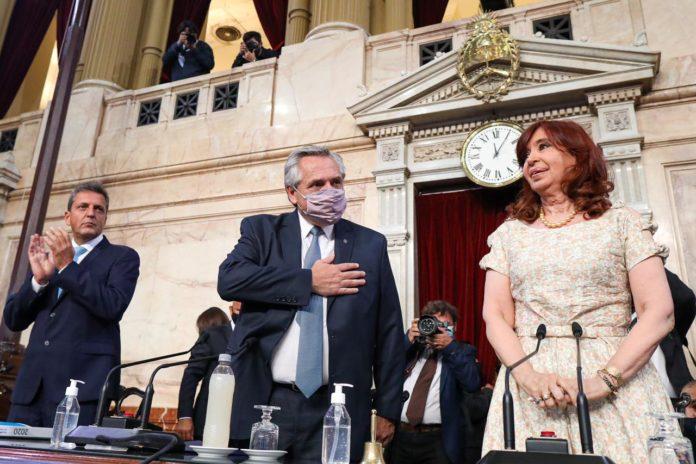 Pandemia, economía y Justicia: los puntos sobresalientes del discurso de Fernández