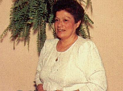 La única foto conocida de Gladys Quiroga de Motta.