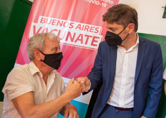 El gobernador Axel Kicillof rechazó la queja de la Ciudad por el reparto de vacunas y el pedido de más dosis