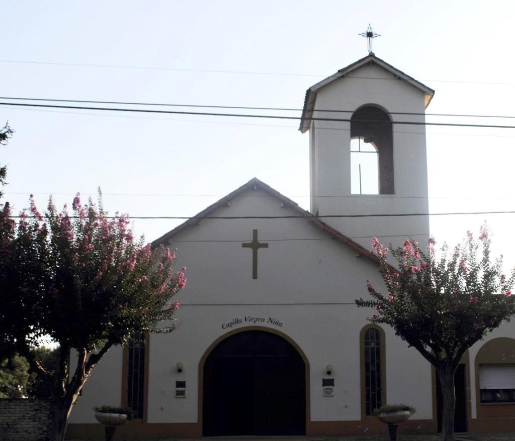 Capilla de la Virgen Niña, en Azcuénaga, San Andrés de Giles. (Secretaría de Turismo)
