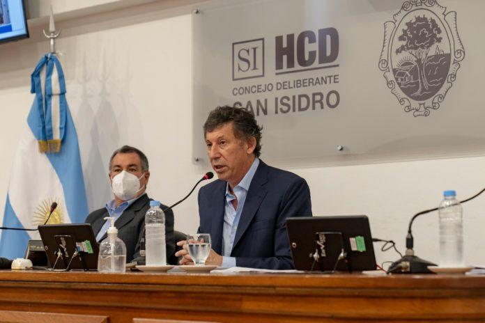 El intendente de San Isidro y candidato a presidente de la Unión Cívica Radical (UCR) bonaerense, Gustavo Posse,