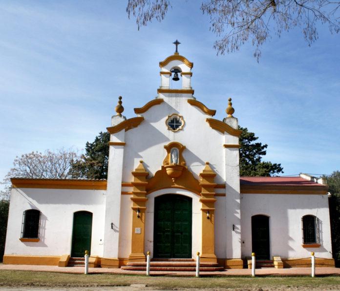 La capilla San José, en Villa Lía, San Antonio de Areco. (Secretaría de Turismo)