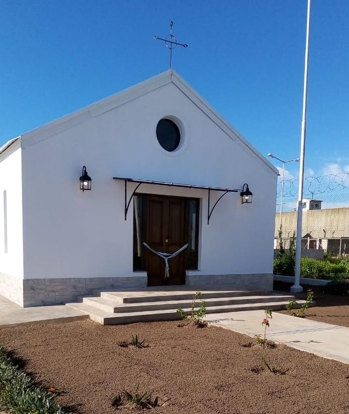 La capilla de San José, en la Unidad 17 Urdampilleta. (Prensa SPB)