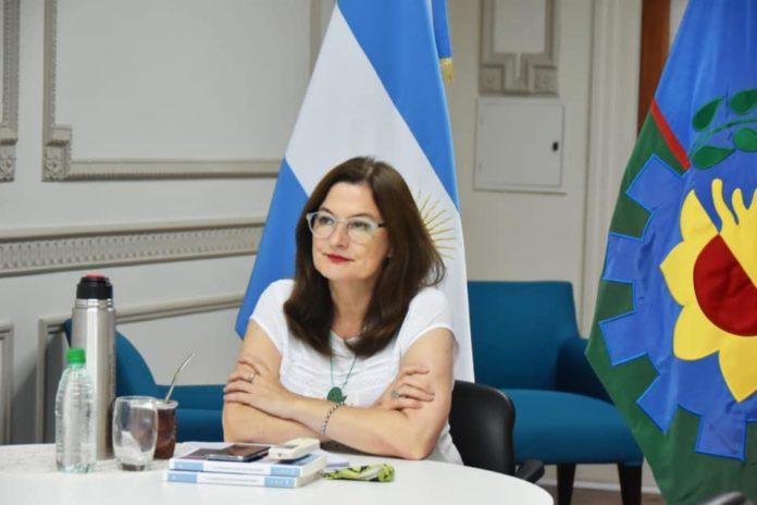 La ministra de las Mujeres bonaerense, Estela Díaz