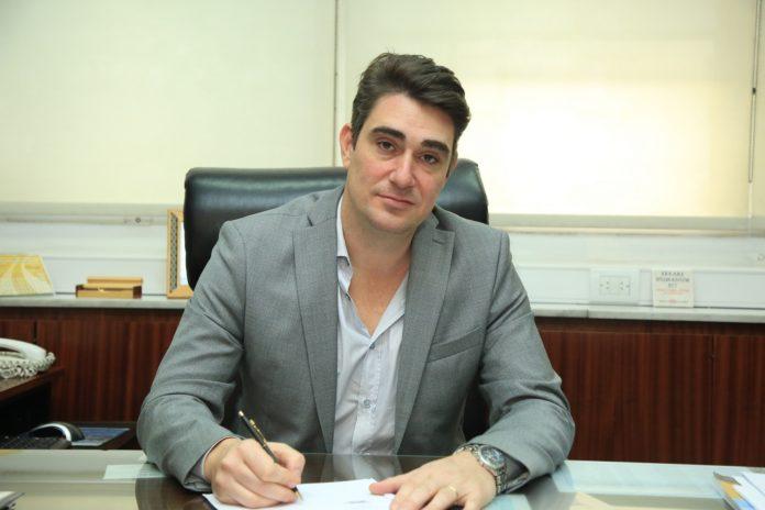 exsecretario de Energía y actual intendente de Capitán Sarmiento, Javier Iguacel