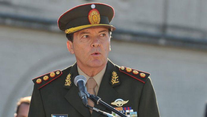 El exjefe del Estado Mayor General del Ejército, César Milani