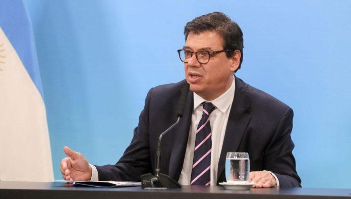 El ministro de Trabajo de la Nación, Claudio Moroni.