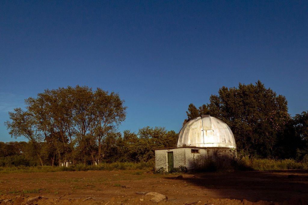 La cúpula del observatorio de San Miguel. (Gentileza Alfredo Fushimi)