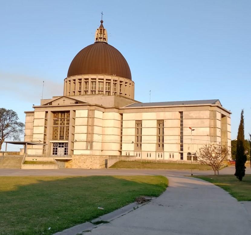 El Santuario de San Nicolás desde el exterior. (Gentileza padre Luis Prieto)