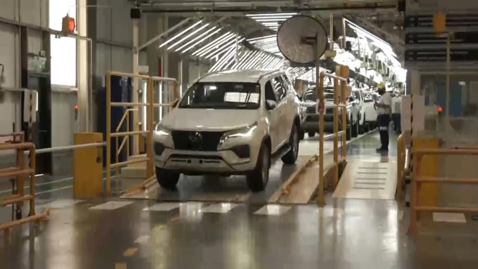 """El presidente de Toyota Argentina aseguró que planean """"un récord de producción"""". (Prensa Desarrollo Productivo)"""
