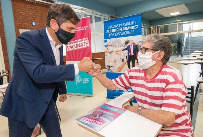 La Provincia llegó al millón de vacunados y Kicillof lo celebrará en un acto con Fernández