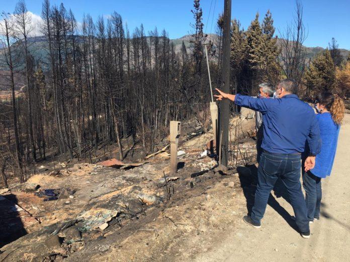 Incendios en la Patagonia: una mujer de 51 años es la segunda víctima fatal