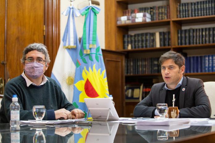 El gobernador, Axel Kicillof, suscribió junto al ministro de Desarrollo Agrario, Javier Rodríguez