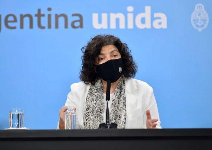"""La ministra de Salud nacional, Carla Vizzotti, dijo este miércoles """"la Argentina está viviendo el peor momento desde que empezó la pandemia"""""""