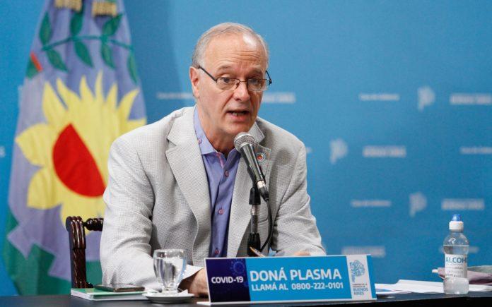 El ministro de Salud bonaerense, Daniel Gollan, salió al cruce del intendente de La Plata, Julio Garro