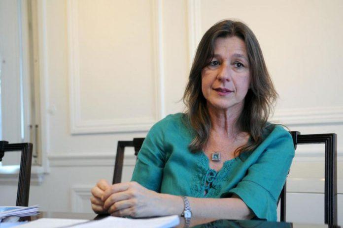 La ministra de Seguridad Sabina Frederic