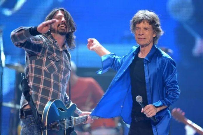 Mick Jagger estrenó nueva canción solista junto a Dave Grohl