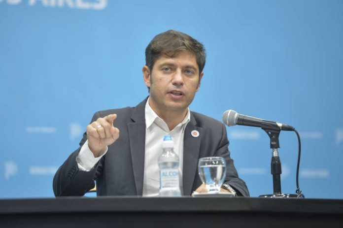 Kicillof: Las multas por violar restricciones serán tan caras como las europeas