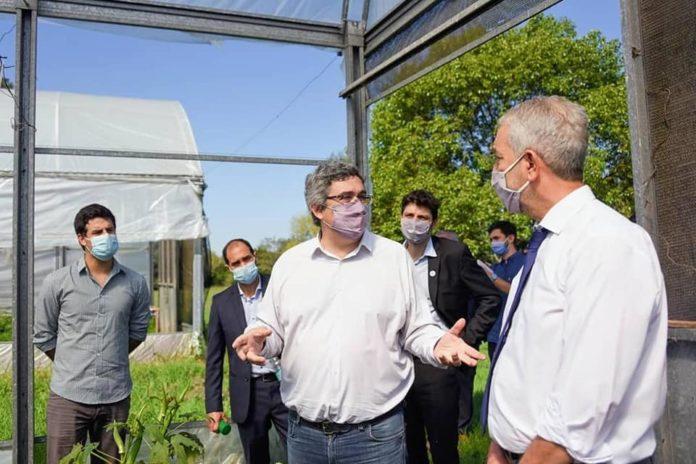 El ministro de Desarrollo Agrario, Javier Rodríguez