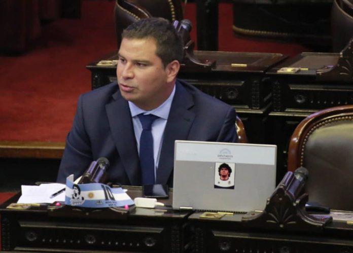 El diputado del Frente de Todos, Nicolás Rodríguez Saá