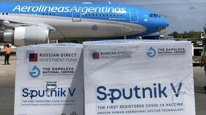 Llega hoy un nuevo vuelo de Moscú con más dosis de la vacuna Sputnik V