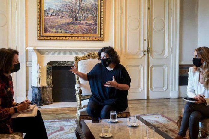 Vizzotti y Nicolini se reunieron con diplomática de EE.UU. con vacunas en agenda