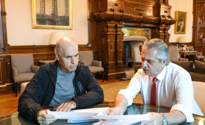 Tras el pedido público, Fernández recibirá mañana a Rodríguez Larreta