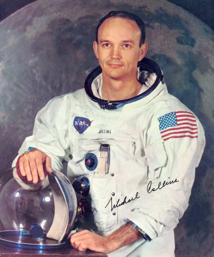 Murió Michael Collins, astronauta de la primera misión tripulada a la Luna