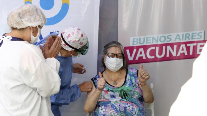 Buenos Aires Vacunate ya alcanzó a más de un millón de personas mayores de 70 años.