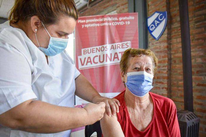 La provincia de Buenos Aires superó en las últimas horas los 2 millones de vacunados