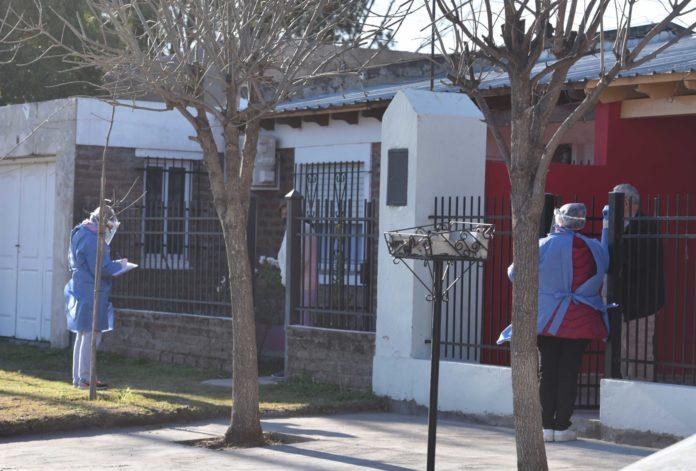 Bahía Blanca registró récords en casos confirmados y activos
