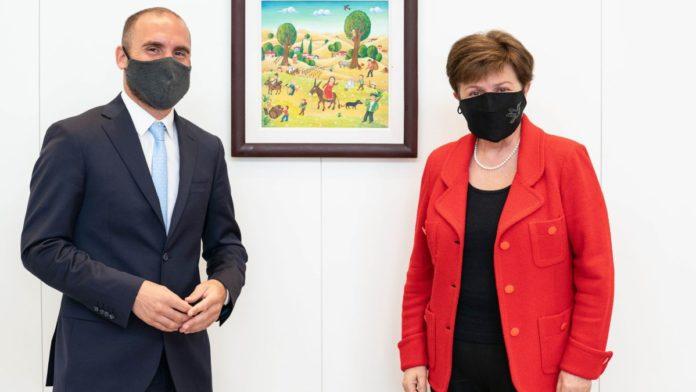 Guzmán vuelve a verse con la directora del FMI en El Vaticano