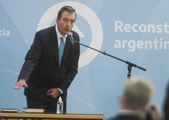 El ministro de Justicia y Derechos Humanos de la Nación, Martín Soria