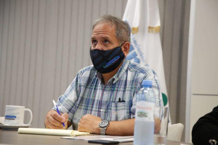 El candidato a diputado nacional del Frente de Todos por la provincia de Buenos Aires y titular de la Asociación Bancaria, Sergio Palazzo