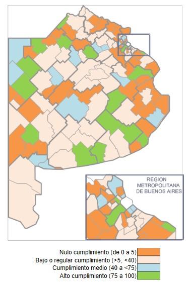 Transparencia fiscal: excelencia para diez municipios y un 75% con complicaciones